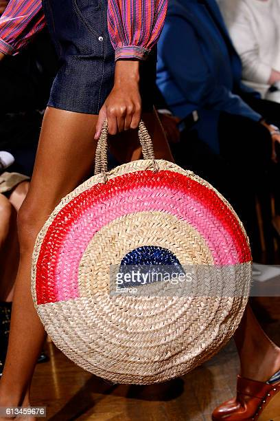 Bag detail at the Vanessa Seward show as part of the Paris Fashion Week Womenswear Spring/Summer 2017 on October 4 2016 in Paris France