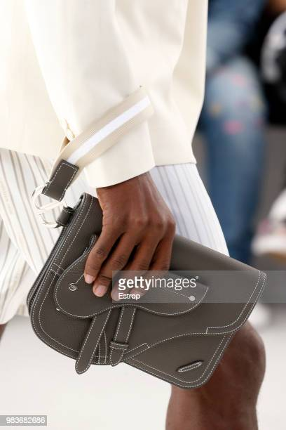 Bag detail during the Dior Homme Menswear Spring/Summer 2019 show as part of Paris Fashion Week on June 23 2018 in Paris France