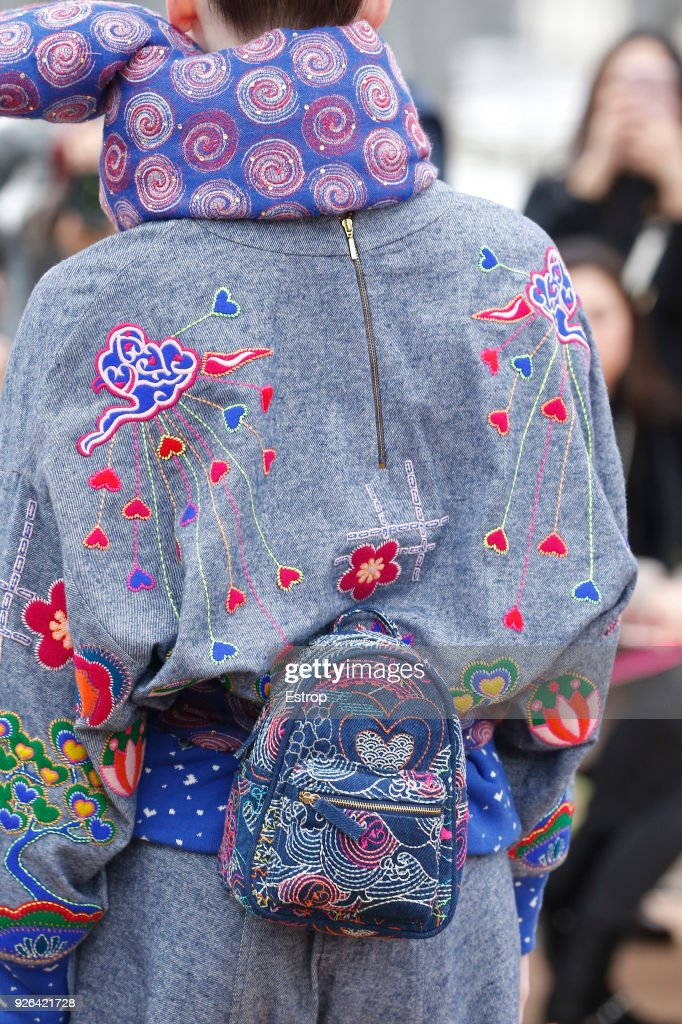 Manish Arora : Details - Paris Fashion Week Womenswear Fall/Winter 2018/2019 : News Photo