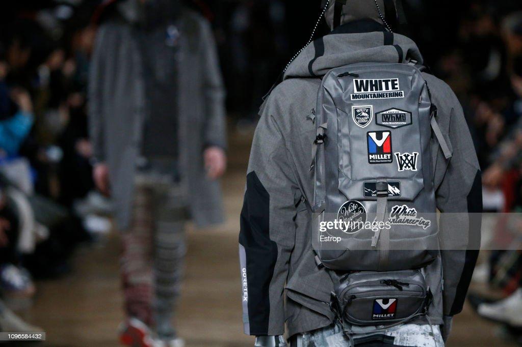 White Mountaineering : Details - Paris Fashion Week - Menswear F/W 2019-2020 : ニュース写真