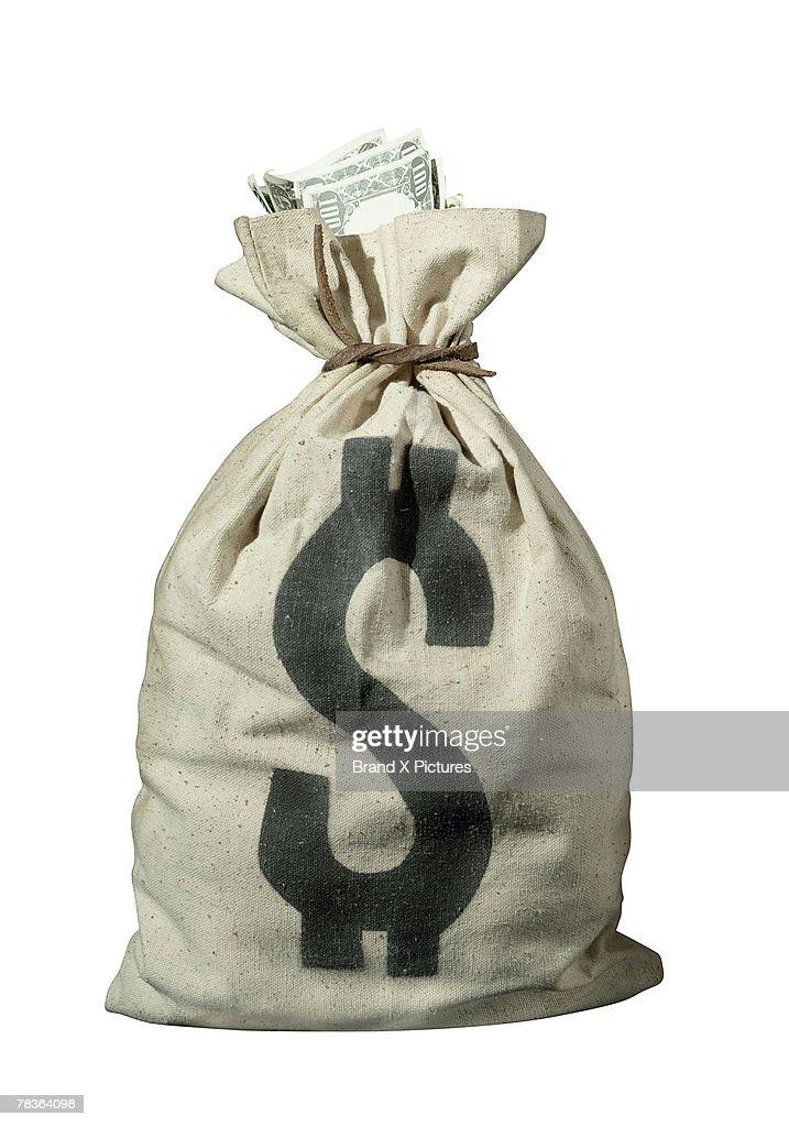 Bag of money : ストックフォト