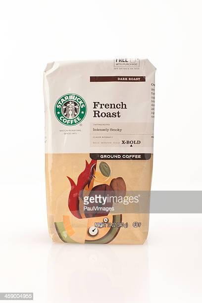 Bag of Starbucks coffee