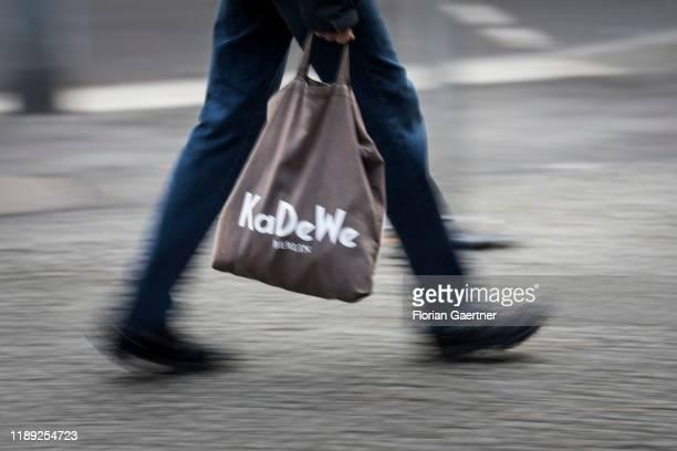 Bag of the KaDeWe is pictured on December 17, 2019 in Berlin, Germany.