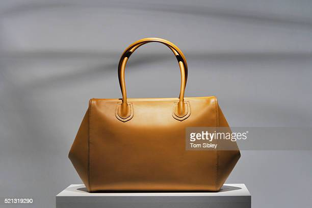 Bag on plinth