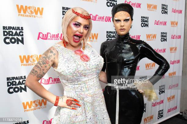 Baga Chipz and Gothy Kendoll attend RuPaul's DragCon 2019 at The Jacob K Javits Convention Center on September 08 2019 in New York City