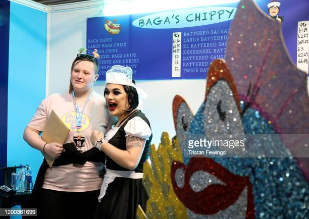 Baga Chipz at RuPaul's DragCon UK presented by World Of Wonder at Olympia London on January 18 2020 in London England