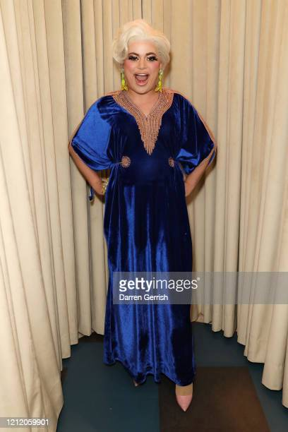 Baga Chipz attends as Jonathan Anderson and Jenny Galimberti celebrate the opening of the new JW Anderson Soho on March 01 2020 in London United...