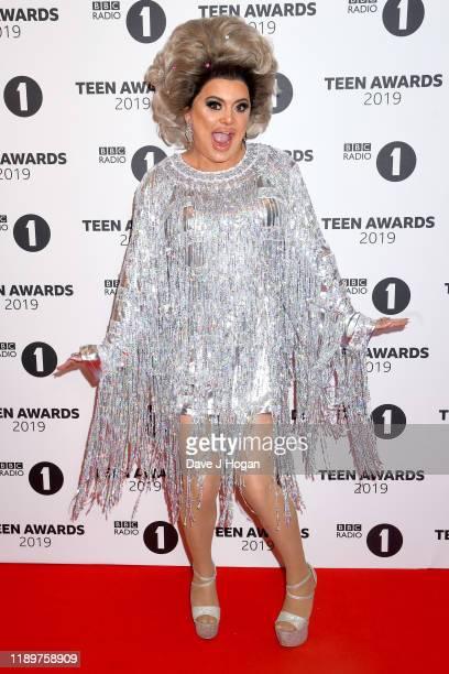 Baga Chipz attends BBC Radio 1's Teen Awards 2019 on November 24 2019 in London United Kingdom