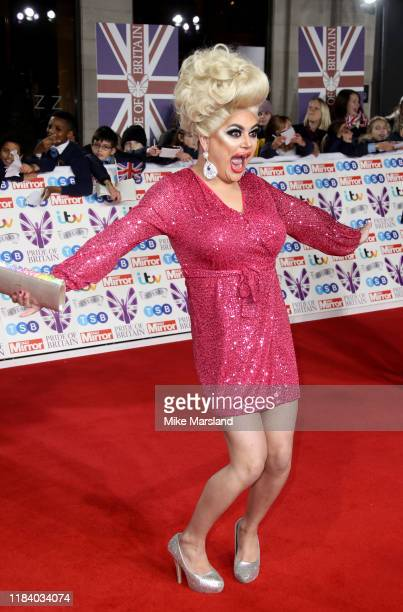 Baga Chipz attends Pride Of Britain Awards 2019 at The Grosvenor House Hotel on October 28 2019 in London England