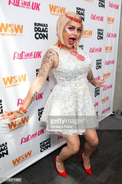 Baga Chipz attends RuPaul's DragCon 2019 at The Jacob K Javits Convention Center on September 08 2019 in New York City