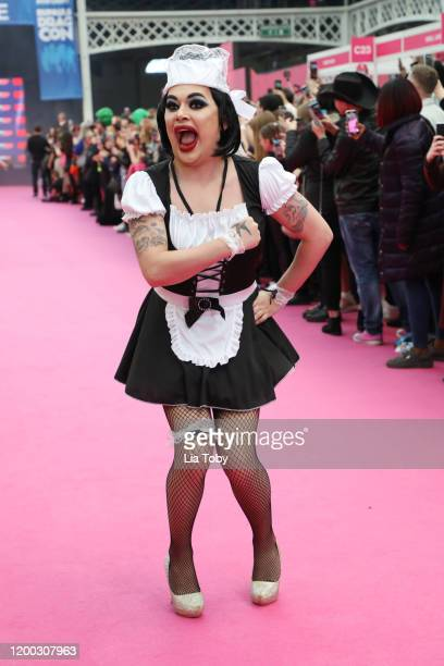 Baga Chipz attends RuPaul's DragCon UK 2020 at Olympia London on January 18 2020 in London England