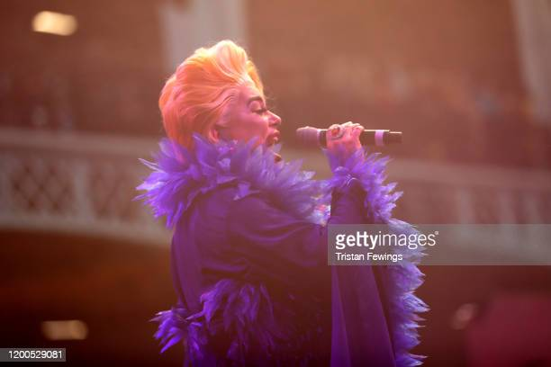 Baga Chipz attends RuPaul's DragCon UK presented by World Of Wonder at Olympia London on January 19 2020 in London England