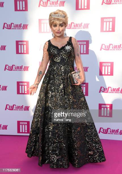 Baga Chipz attends the Ru Paul's Drag Race UK Launch on September 17 2019 in London England