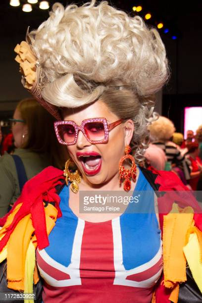 Baga Chipz of 'RuPaul's Drag Race UK' attends RuPaul's DragCon 2019 at The Jacob K Javits Convention Center on September 06 2019 in New York City