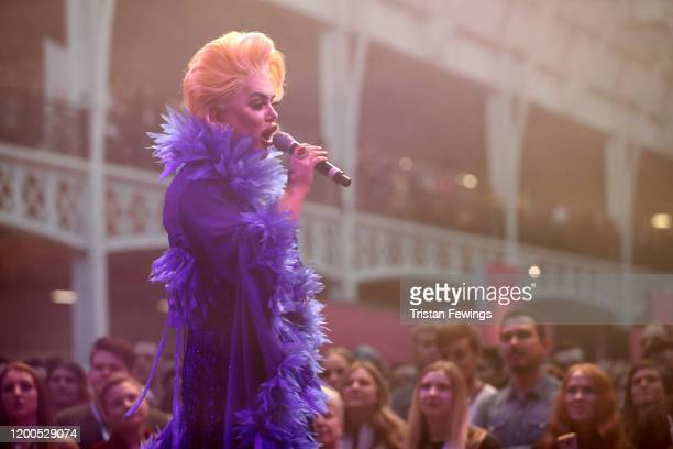 Baga Chipz onstage at RuPaul's DragCon UK presented by World Of Wonder at Olympia London on January 19 2020 in London England