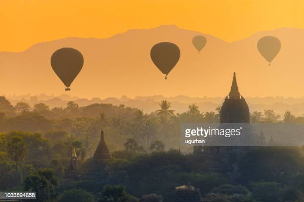 bagan, myanmar - myanmar culture stock pictures, royalty-free photos & images