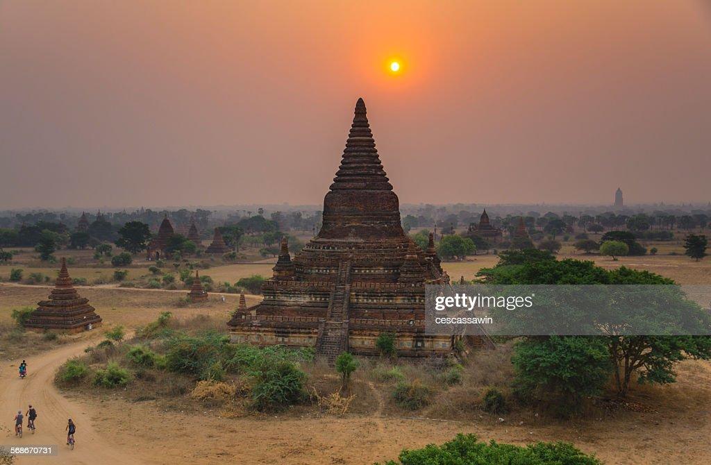 Bagan, Myanmar : Stock Photo