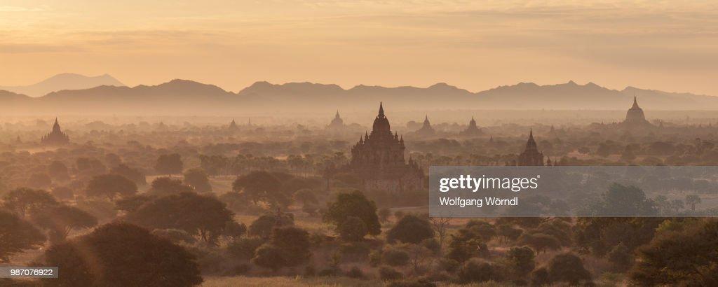 Bagan Panorama : Stock-Foto