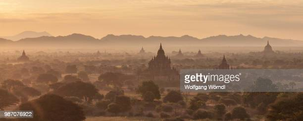 bagan panorama - wolfgang wörndl stock pictures, royalty-free photos & images