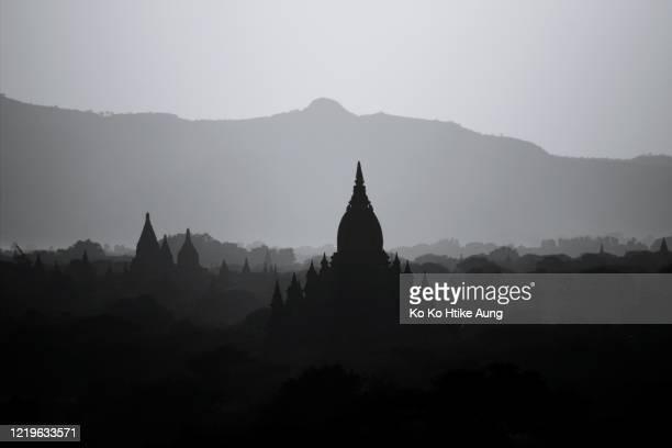 bagan - ko ko htike aung stock pictures, royalty-free photos & images