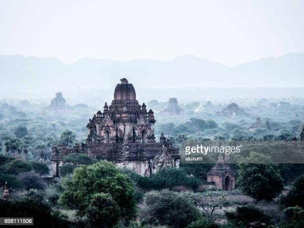 Bagan temples and pagodas Myanmar