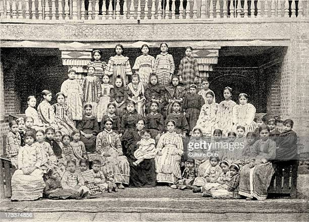 Bagdad Iraq Jewish Girls' School The Alliance Israelite Universelle photo from late 1800s