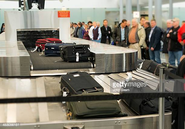 Baggage claim conveyor at Philadelphia International Airport