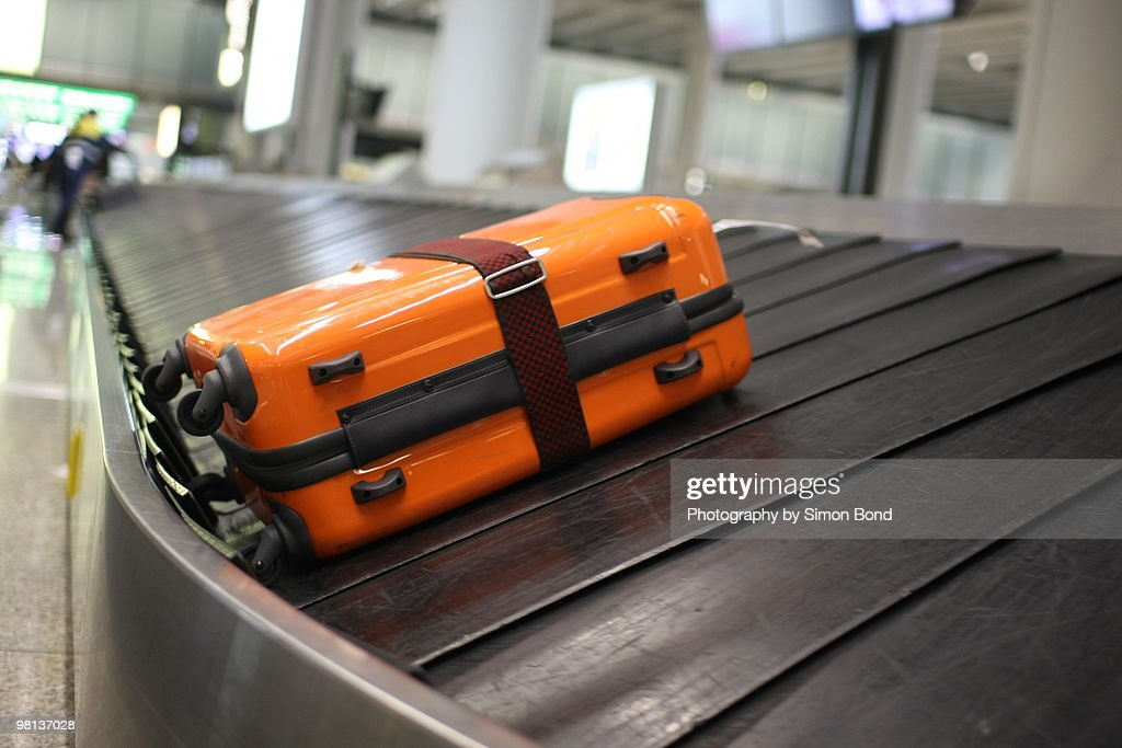 Baggage collection : Stock Photo