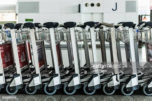 Baggage Trolleys, Hong Kong International Airport, Hong Kong