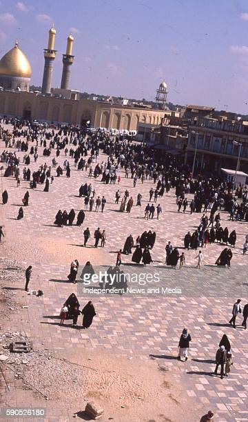 Baghdad Capital of Iraq circa February 1988