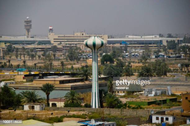 baghdad international airport - baghdad stock pictures, royalty-free photos & images