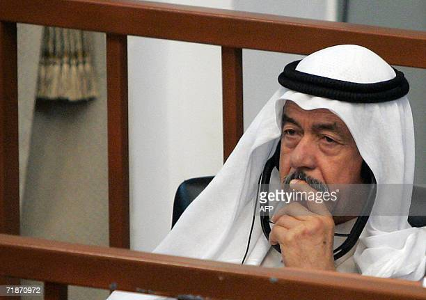 Ali Hassan al Majid former head of Iraq's northern military command and Saddam's paternal cousin also known as Chemical Ali for his enthusiasm for...