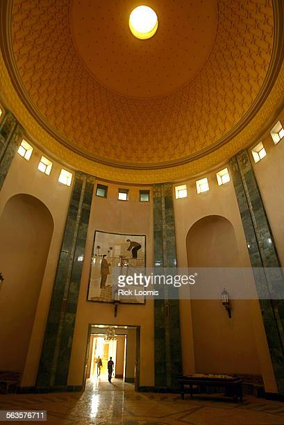 Baghdad Iraq–– One of the many large rooms that make up the Presidential Palace that is situated along the Tigris River Much of the Palace is empty...