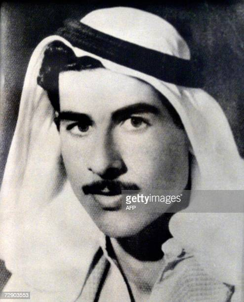 This black and white reproduction of a picture taken in 1960 shows Saddam Hussein as a young member of the Baath Party Ousted Iraqi leader Saddam...
