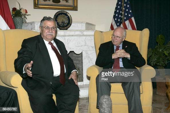 iraq oil Vice president dick
