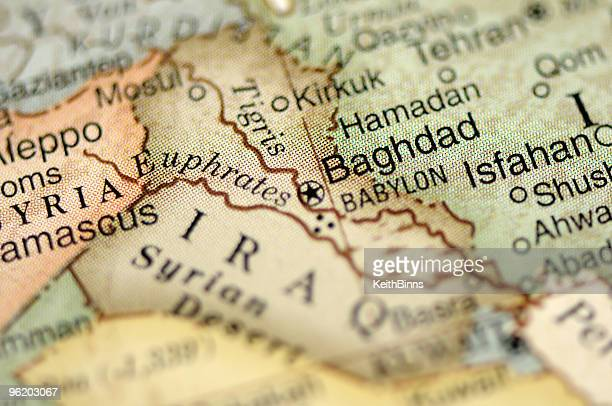 Map Of Euphrates River Stock Photos and Pictures   Getty Images