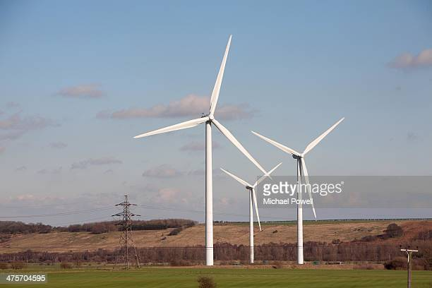 bagmoor windfarm, scunthorpe - north lincolnshire stock pictures, royalty-free photos & images
