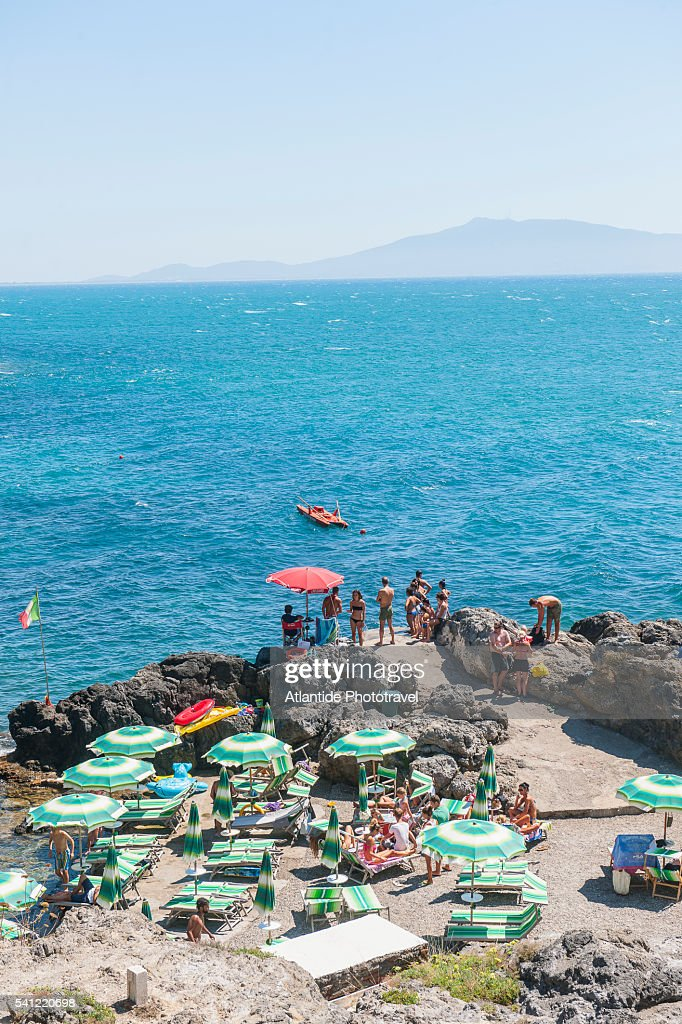 Bagno Delle Donne Beach At Talamone Stock Photo | Getty Images