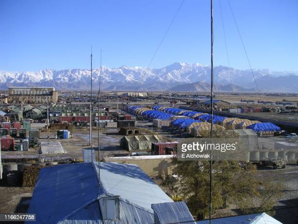 bagram base - military base stock pictures, royalty-free photos & images
