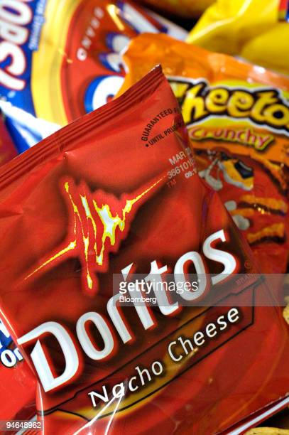 Bags of Doritos Cheetos and Fritos are arranged for a photograph Thursday Feb 8 2007 PepsiCo Inc the world's secondlargest softdrink maker said...