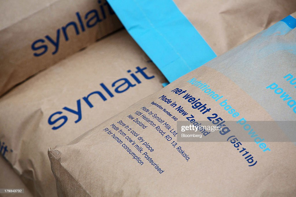 Inside Synlait Milk's Dairy Processing Plant And Dairy Farm Suppiers : News Photo