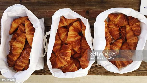 Bags With Croissants