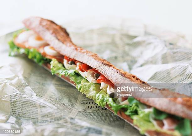 Baguette Sand of Salmon