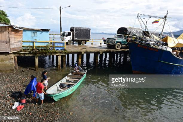 Bahía Solano in the Chocó Department Colombia Bahia as it is locally known is an economic and tourist center of coastal Choco
