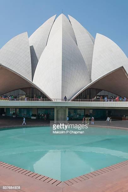 Bahai House of Worship, Lotus Temple, Delhi, India