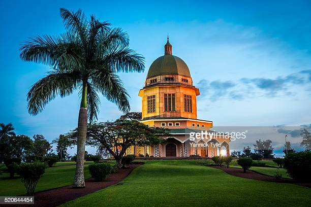 bahai temple of africa - kampala stock pictures, royalty-free photos & images