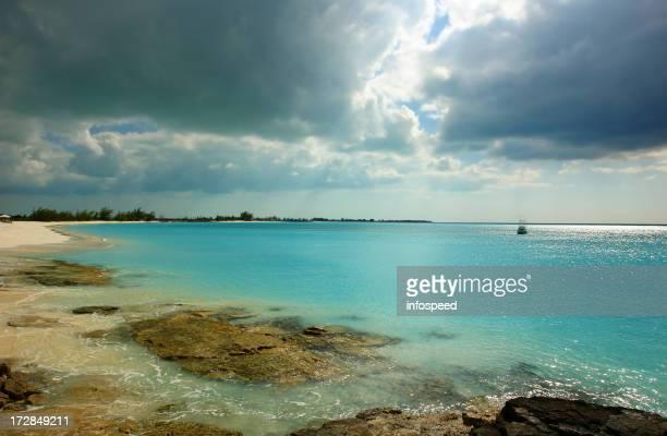 Bahamas, Cape Santa Maria Resort with Heavy Storm