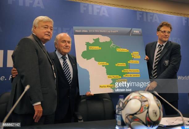 Bahamas New Providence Nassau 59 FIFA Kongress Pressekonferenz des Exekutivkomitees Praesentation der Austragungsorte fuer die FIFA...