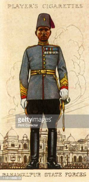 Bahawalpur State Forces' 1936 From Military Uniforms of the British Empire Overseas [John Player Sons 1936] Artist Unknown