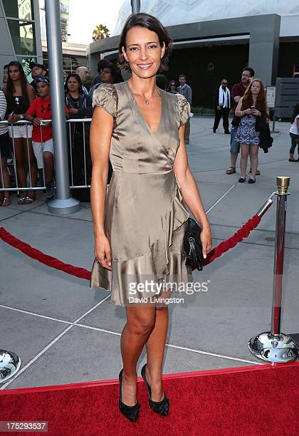 Bahia Haifi attends a screening of Magnolia Pictures' I Give It a Year at ArcLight Hollywood on August 1 2013 in Hollywood California